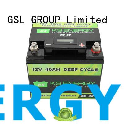 GSL ENERGY solar battery 12v 1000ah free sample for motorcycle