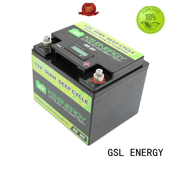 GSL ENERGY lithium battery 12v 300ah customization for camping