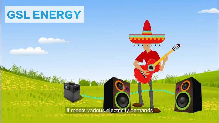 Solar Energy Storage System GSL-P400