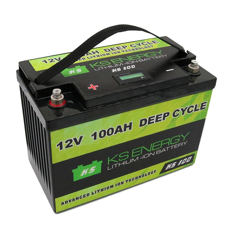 deep lifepo4 GSL ENERGY Brand 12v 50ah lithium battery