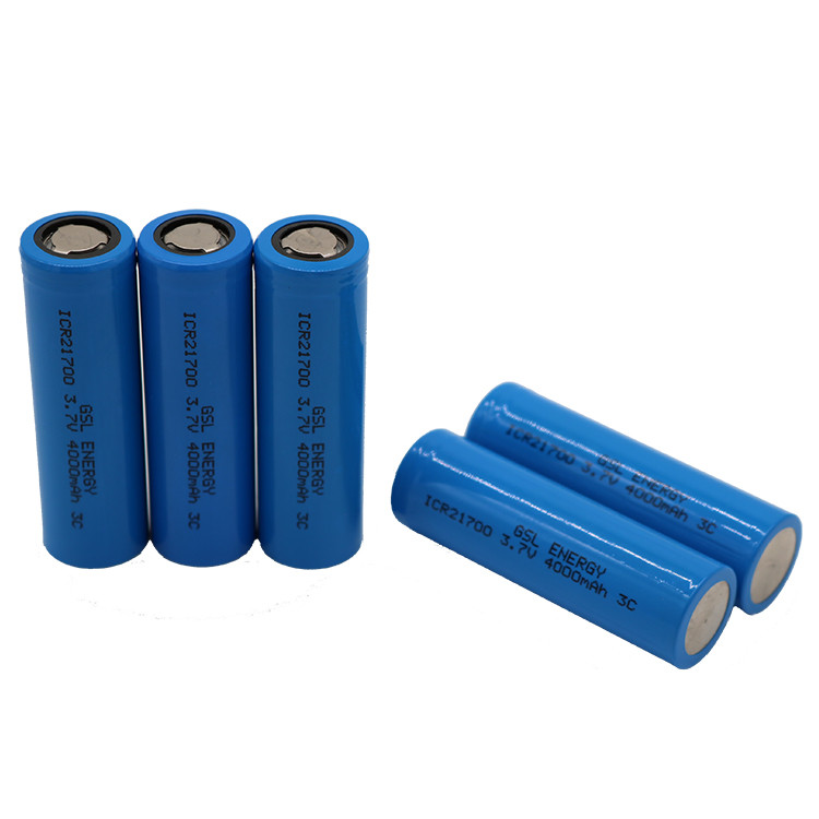 2019 New Best Bechargeable Battery 3.7V 4000mAh 21700 Tesla Battery
