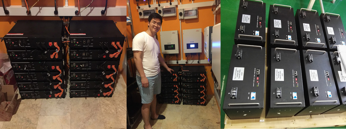 lithium battery bank in telecom tower bulk production for energy storage GSL ENERGY-5