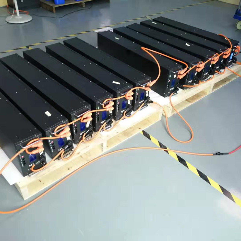 GSL ENERGY offers CUSTOMIZED 48V 850AH Lifepo4 Solar UPS battery system for Hongkong clients