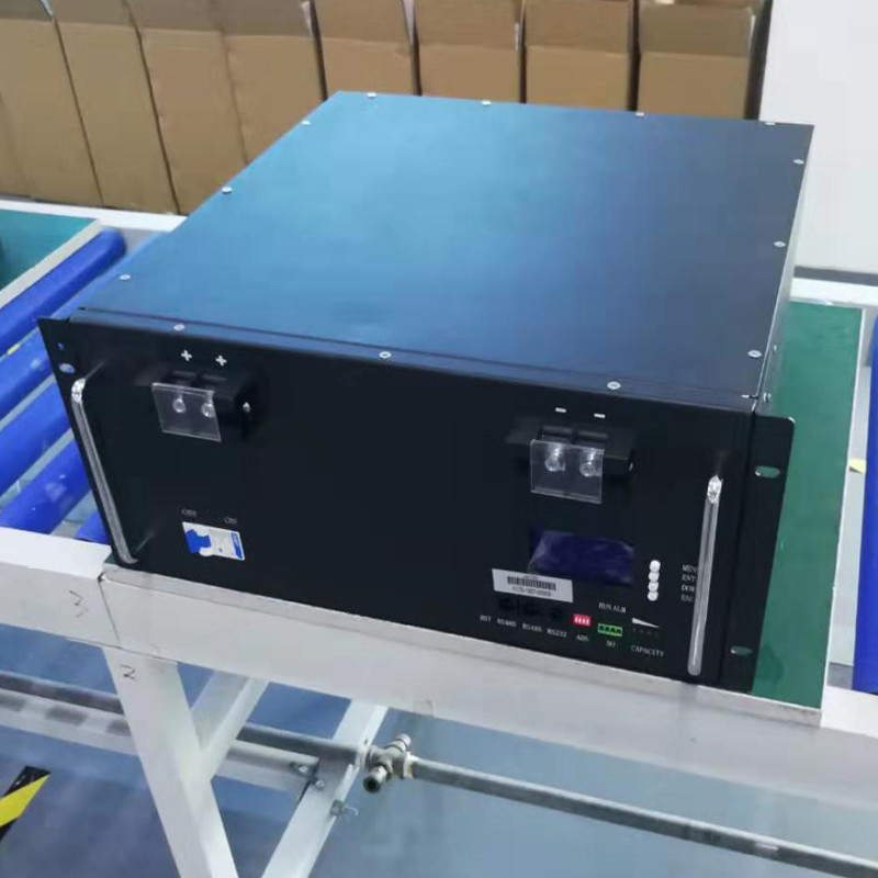 GSL ENERGY offered 2500 pcs 48V 100AH 5U Lifepo4 battery UPS BACKUP for home clients on ETC UPS project