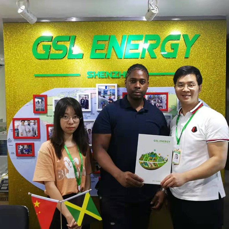 GSL ENERGY-Jamaica Client Mr Craig Visited Gsl Energy For Powerwall And Solar Home