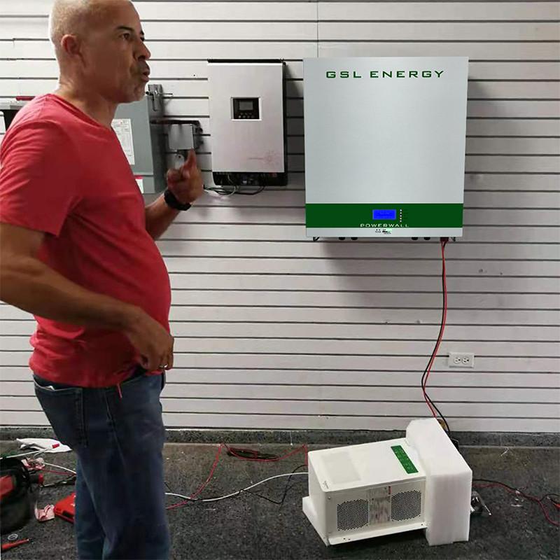 Wall Mounted Lifepo4 7Kwh Tesla Powerwall Home Battery Storage