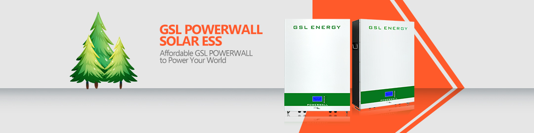 product-GSL ENERGY-Powerwall 2 Wall Mounted Lifepo4 48V 150Ah Battery For Solar Battery Storage Syst