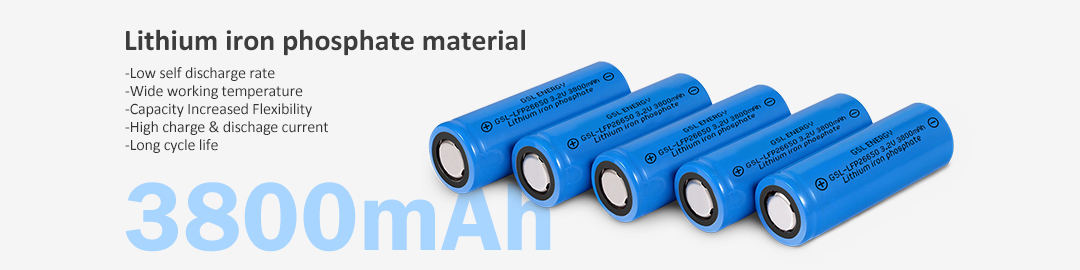 product-GSL ENERGY-LiFePO4 26650 32V 3800mAh Lithium Ion Rechargeable 266500 Battery-img