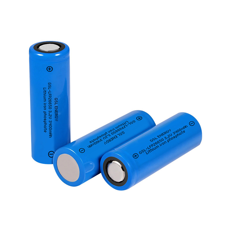 3.2v 3400mAh High Power Lithium 26650 High Drain Rechargeable Battery Cell for Golf Cart Batteries Packs