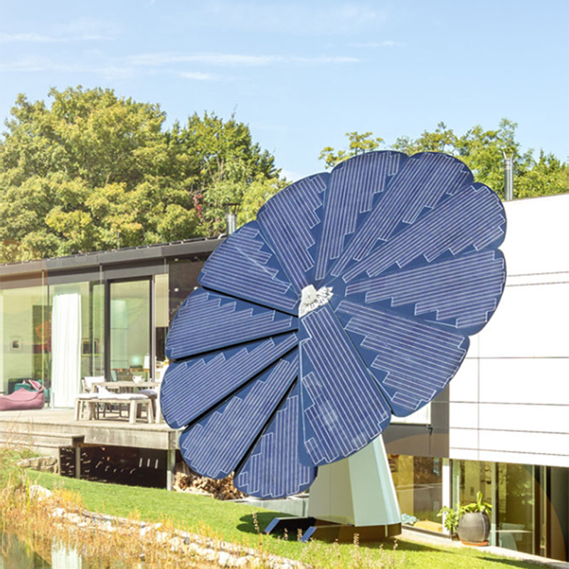New Product Smart Sunflower Solar Power System Home Solar Energy Systems