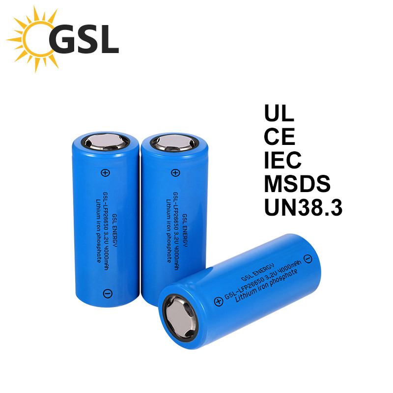 GSL ENERGY successfully begins large production on 26650 4000mah-3C lifepo4 battery cells for overseas clients