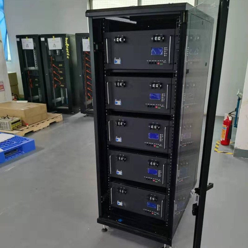 GSL ENERGY finished and exported 50KWH 32U RACK design ESS lifepo4 battery storage system to Swiss Client