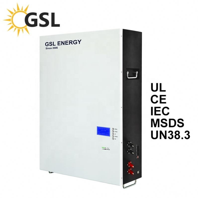 GSL ENERGY offers high advanced 15kwh NCM powerwall lithium ion battery to Puerto Rico clients
