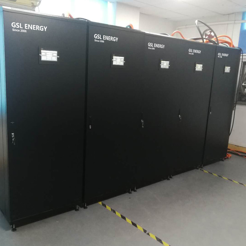 GSL ENERGY offers lower cost-effective 264KWH 48VDC 5500AH Lifepo4 battery storage system to Indonesian clients