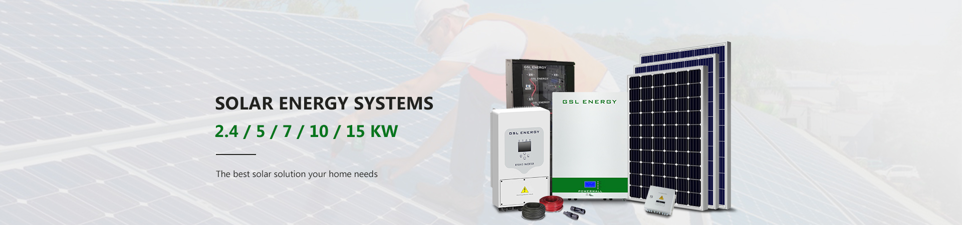 news-GSL ENERGY-GSL ENERGY successfully offers power storage wall 30kwh lifepo4 battery solution to -2