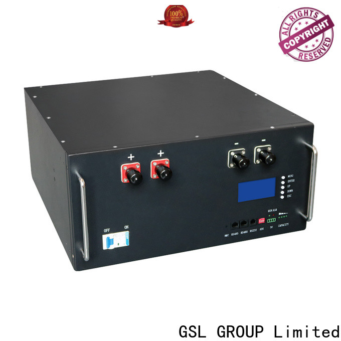 GSL ENERGY large capacity battery bank in telecom tower deep cycle distributor