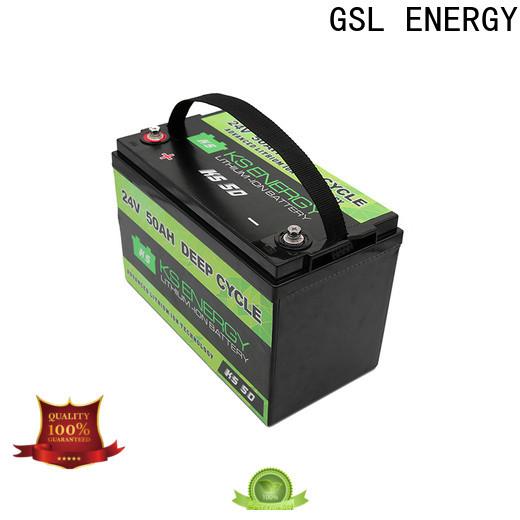 GSL ENERGY customized 24V lithium battery bulk supply