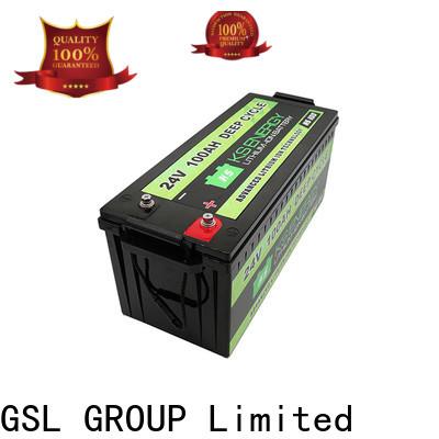 GSL ENERGY 24v lifepo4 battery factory direct