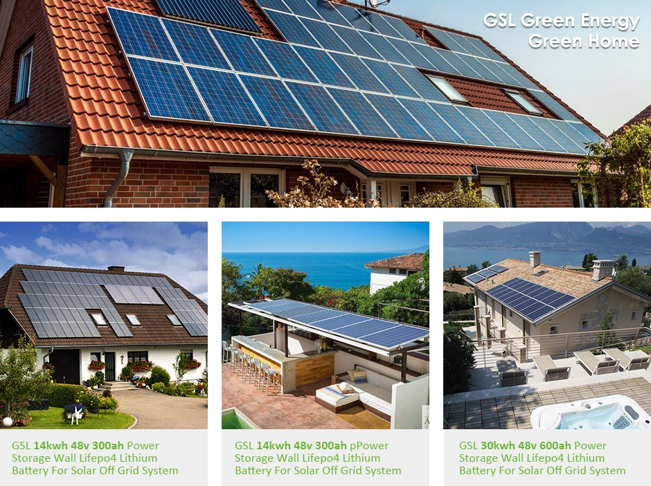 product-GSL ENERGY-Power Storage Wall 9kwh Home Lithium Battery Solar Storage Lithium Ion Batteries--1