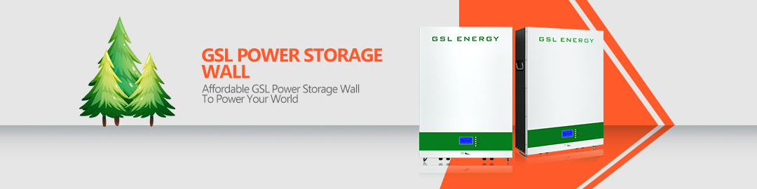 product-GSL ENERGY-Wall Mounted Lifepo4 7Kwh Tesla Power Storage Wall Home Battery Storage-img