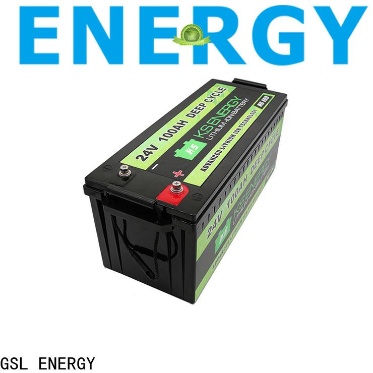 GSL ENERGY solar batterie 24v fast delivery customization