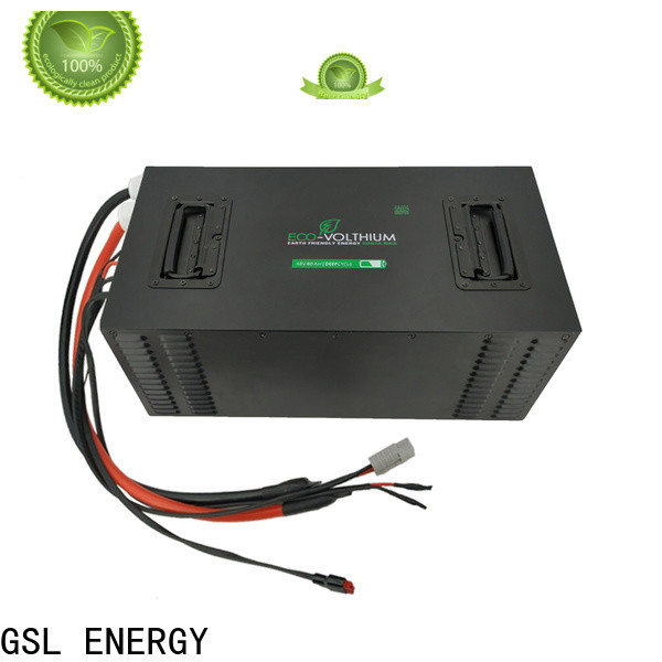 GSL ENERGY enviromental-friendly golf cart battery charger new arrival top-performance