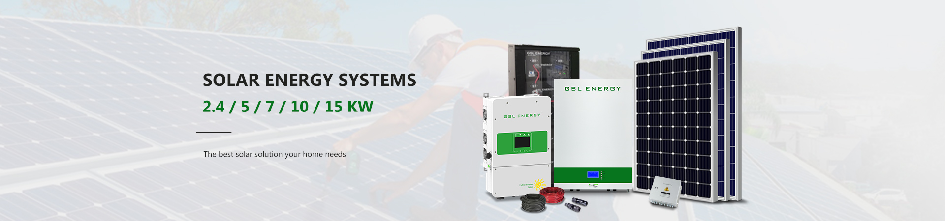 category-Find Solar Battery Storage System, Professional Solar Energy Storage-GSL ENERGY-img-2