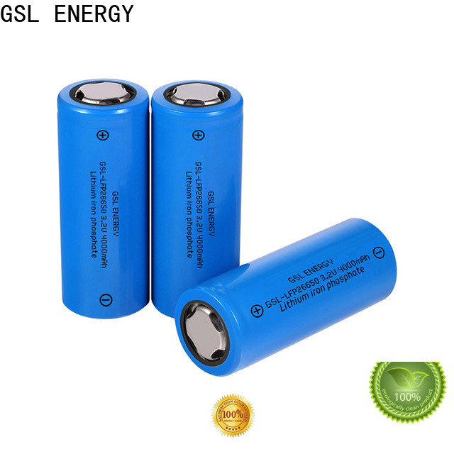 GSL ENERGY lithium ion 26650 manufacturer