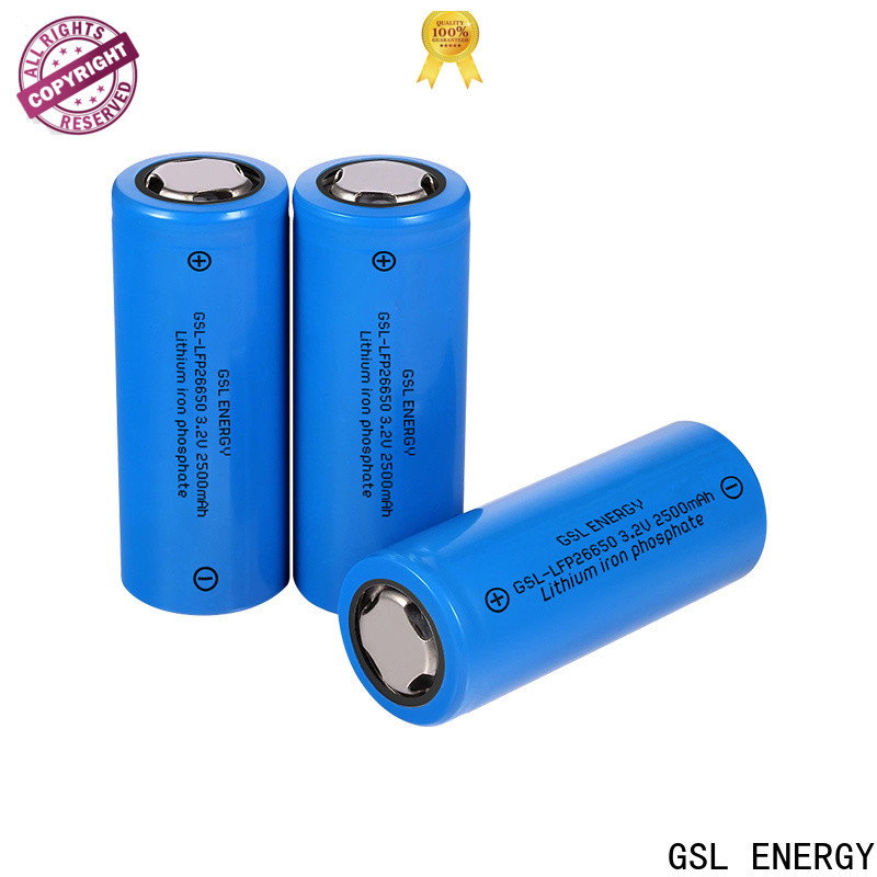 top-performance 26650 lithium rechargeable battery manufacturer