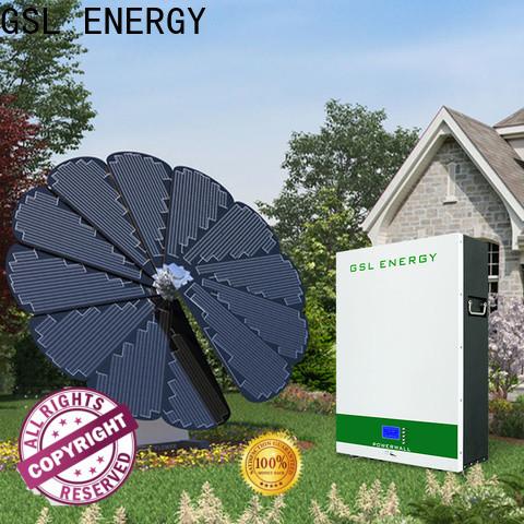 GSL ENERGY solar energy storage system intelligent control bulk supply