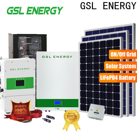 GSL ENERGY solar energy system intelligent control fast delivery
