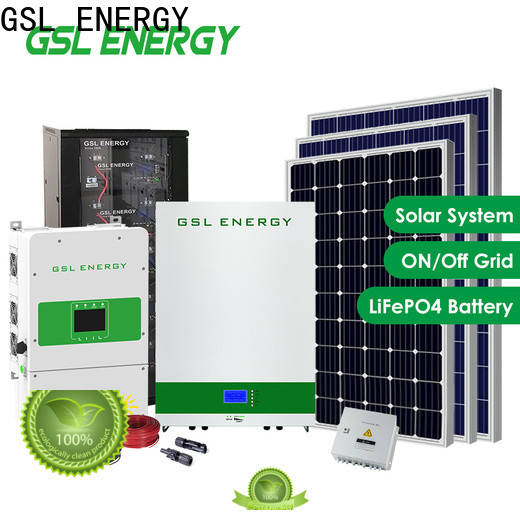 GSL ENERGY home solar power system intelligent control large capacity