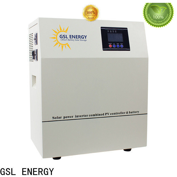 GSL ENERGY solar energy system for home adjustable large capacity