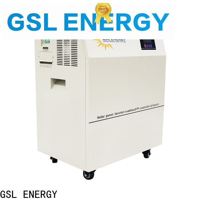 GSL ENERGY manufacturing home renewable energy systems intelligent control fast delivery