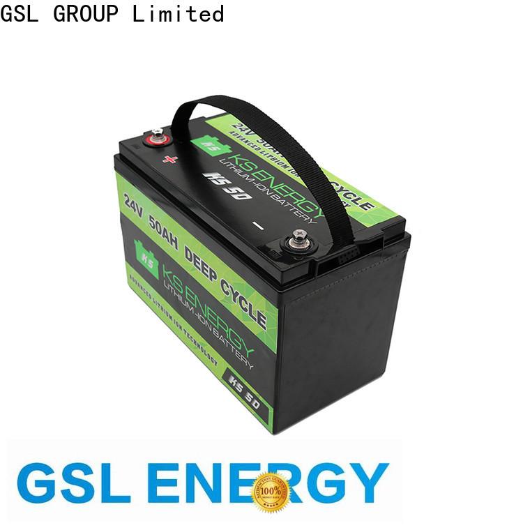 GSL ENERGY solar batterie 24v factory direct large capacity