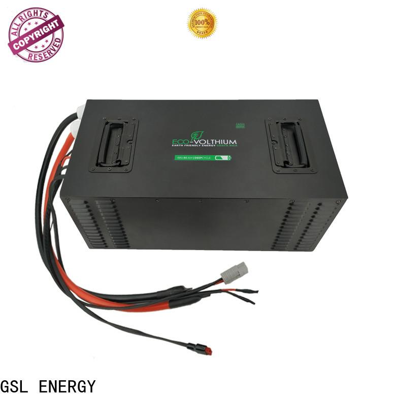 GSL ENERGY electric rickshaw battery long service wholesale supply
