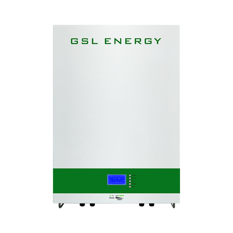 GSL-ENERGY_51.2V_POWER STORAGE WALL para todos los inversores solares inteligentes híbridos