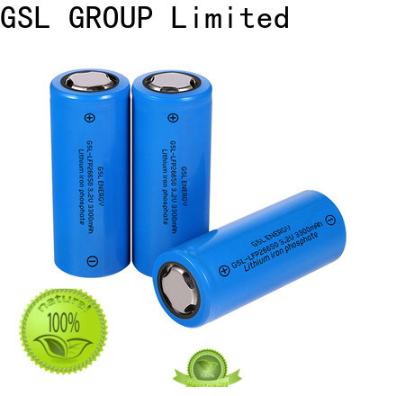 GSL ENERGY wholesale 26650 rechargeable lithium battery custom manufacturer