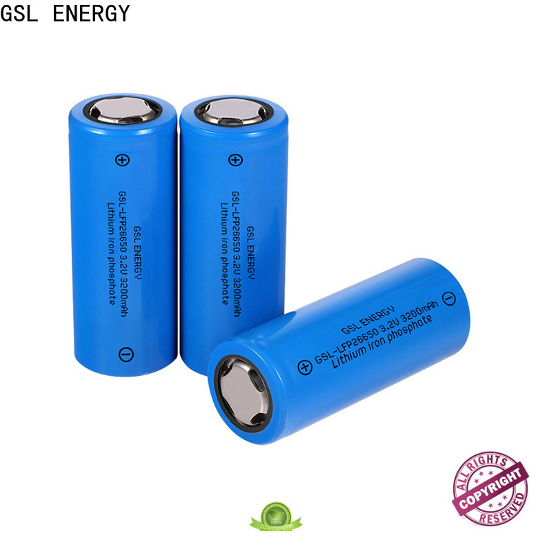 GSL ENERGY 26650 lithium ion battery manufacturer