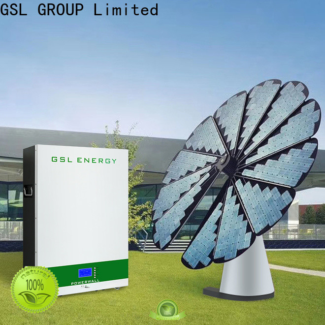 GSL ENERGY manufacturing solar energy system intelligent control large capacity