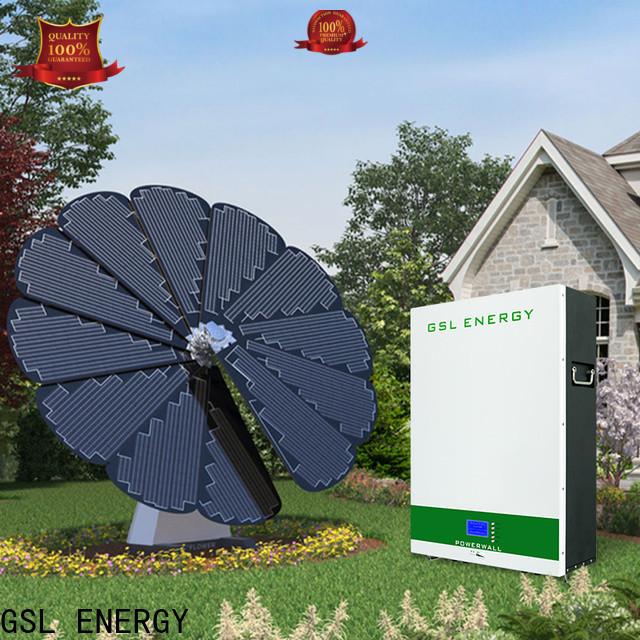 GSL ENERGY renewable energy systems high-speed bulk supply