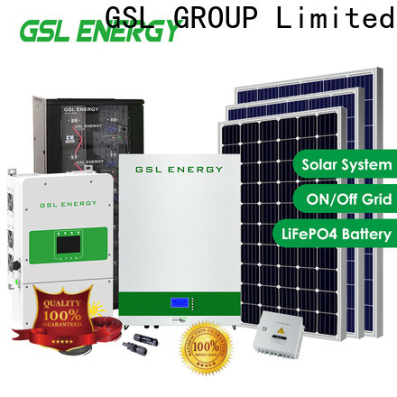 GSL ENERGY residential solar panel system intelligent control large capacity