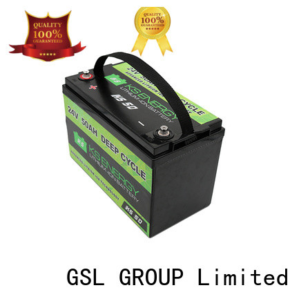 GSL ENERGY best quality 24v lithium ion battery fast delivery large capacity