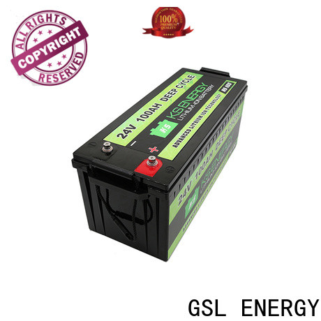 GSL ENERGY customized 24v lithium ion battery fast delivery customization