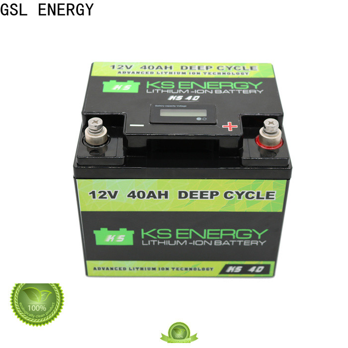 GSL ENERGY enviromental-friendly solar battery 12v 300ah high rate discharge wide application