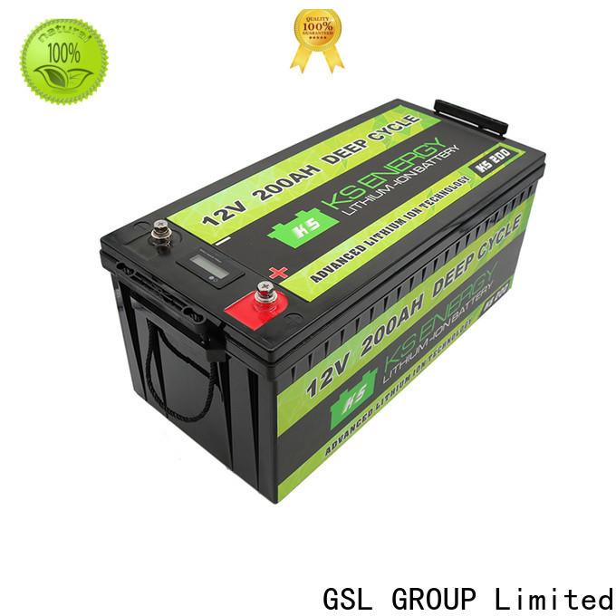 GSL ENERGY solar battery 12v free maintainence high performance