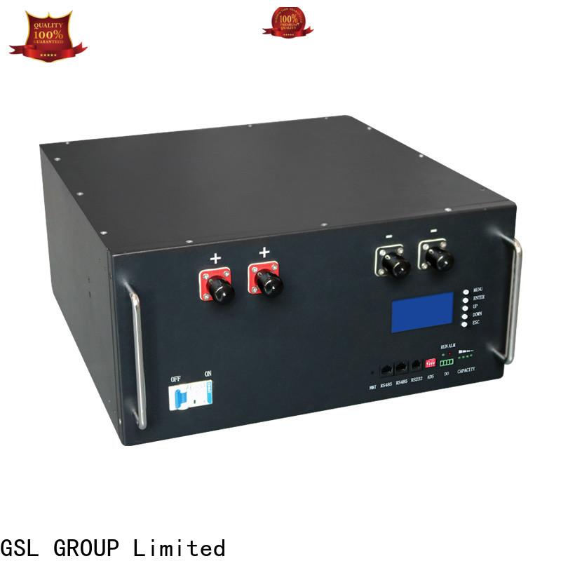 GSL ENERGY large capacity telecom battery bulk supply distributor