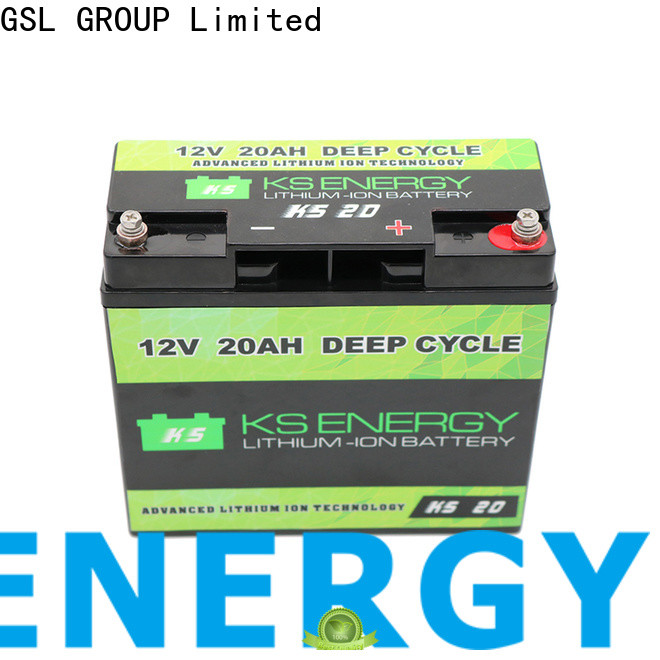 GSL ENERGY lifepo4 battery 12v free maintainence wide application