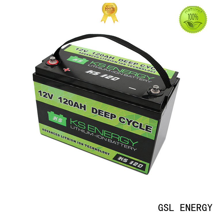 GSL ENERGY lithium battery 12v 100ah free maintainence wide application
