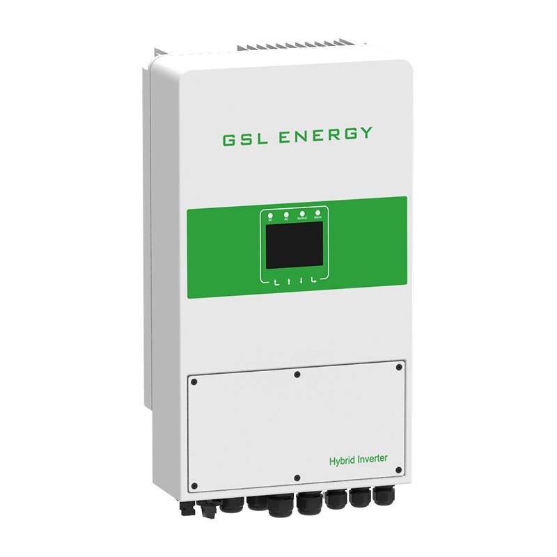 Solar Energy Inverter On Off Grid Hybrid Solar Inverter 5kw Single Phase Solar System